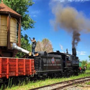 Colorado Railroad Museum Steam Train