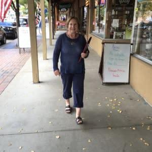 Mayor Marjorie Sloan