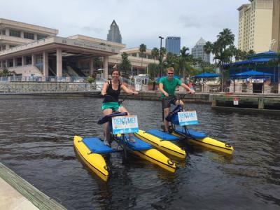 DISCOUNTED WATER BIKE RIDES