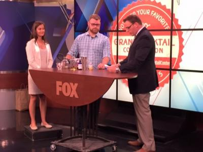 Josh Hallwachs at Grand Cocktail Competition