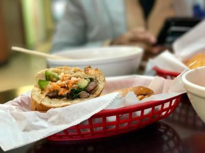 Mi Li Cafe, Bahn mi sandwich, Vietnamese restaurant