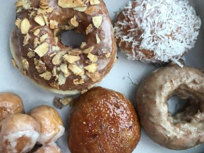 Variety of Donuts
