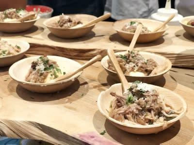 Pork Ragu Polenta From Cucina Enoteca