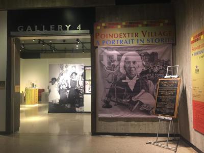 Ohio History Center's Poindexter Village exhibit