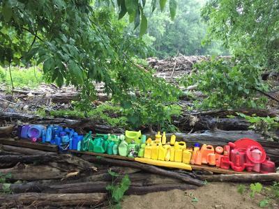 Al Gorman plastic rainbow