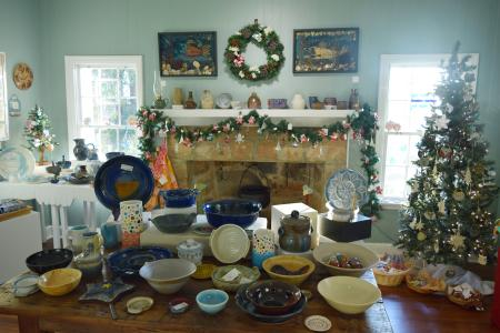 Ceramics at Holiday Artist Market
