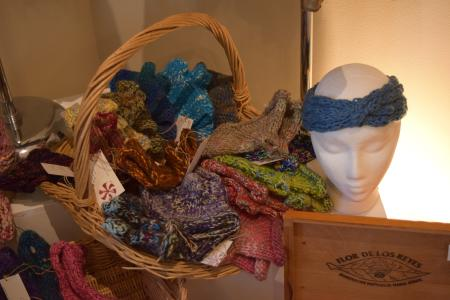 Knit Headbands at Holiday Artists Market