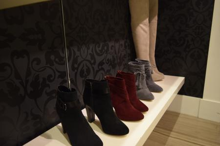 Booties at White House Black Market