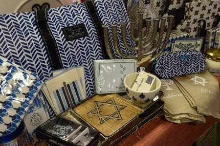Hanukkah items at Enchanted Forest