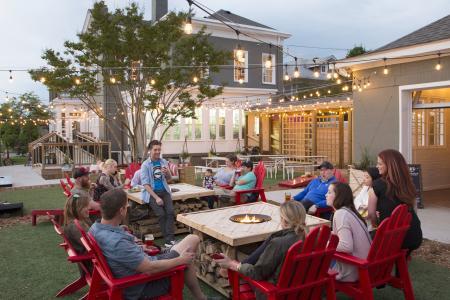 Parlour outdoor beer garden