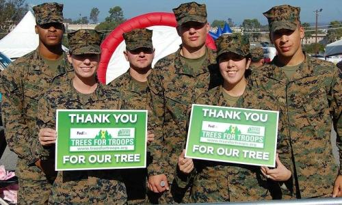 Ellms Family Farm Trees for Troops