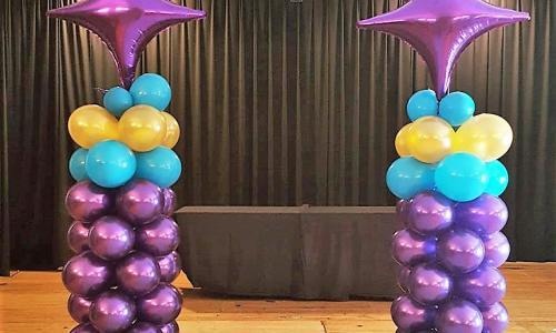 Creative Sparks and Balloonatics Pillars