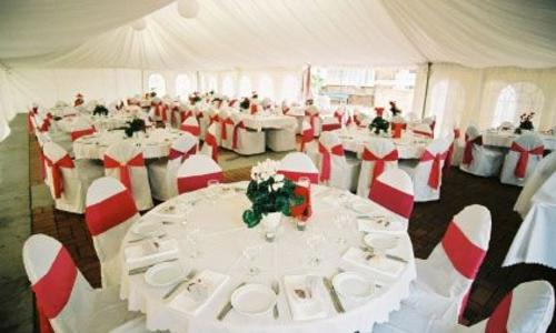 87 North Staffing banquet room setup