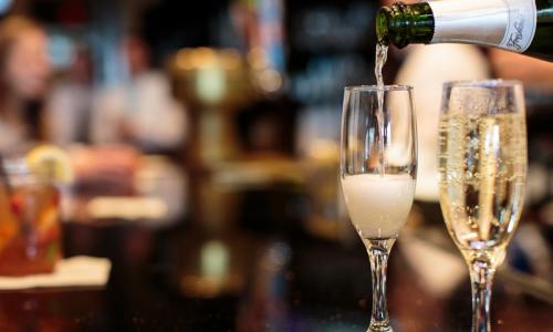 Champagne at Saratoga National