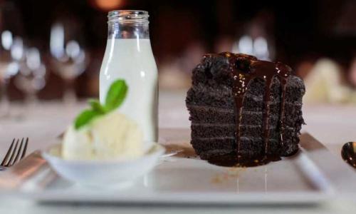 Dessert at Saratoga National