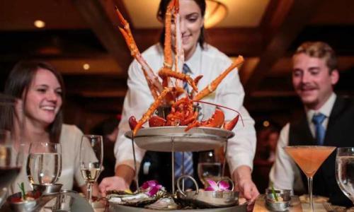 Seafood at Saratoga National