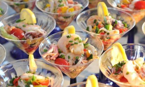 Shrimp Cocktail by Mazzone Catering