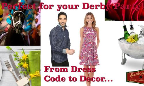 Derby Party Dress code Party ideas Banner