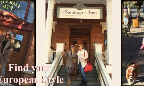 Web Banner Saratoga Arms Hotel Fall Fashion