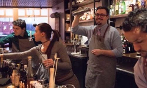 Serving Up Cocktails