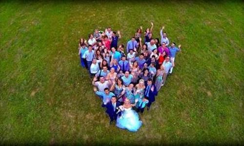 NY Drone Zone Wedding Photography