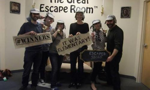 The Great Escape Room for Groups