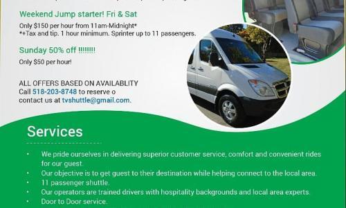 Sprinter Pricing Flyer