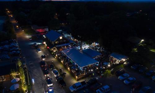 Horseshoe Inn aerial view