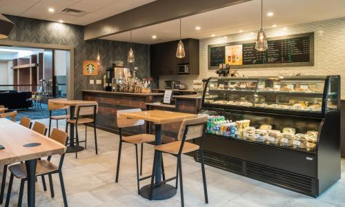 Starbucks Cafe, The Saratoga Hilton, cafe photo