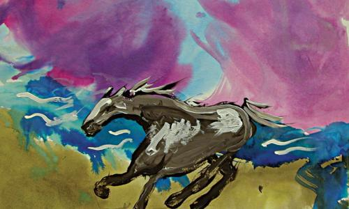 Living Resources Arts Horse Painting