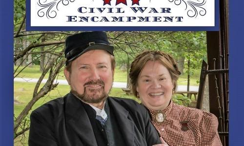 Grant Cottage Civil War Encampment