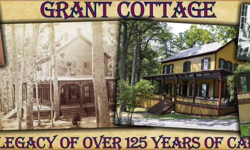 Grant Cottage Legacy Postcard