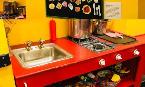 Children's Museum Kitchen Sink