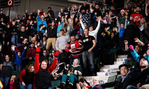 Adirondack Thunder Crowd