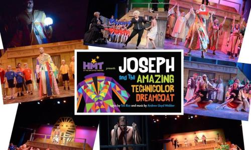 Home Made Theater Joseph Collage