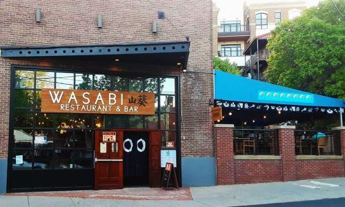 Wasabi Restaurant exterior shot