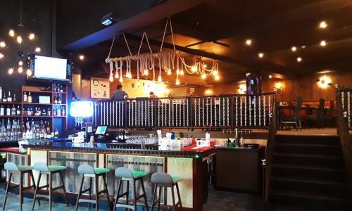Wasabi Restaurant interior shot looking upstairs