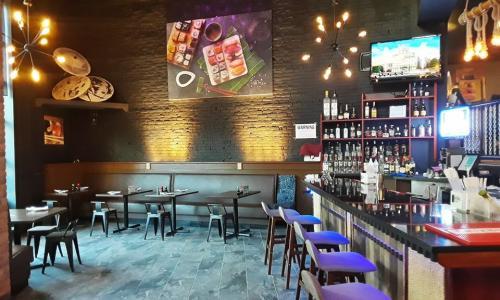 Wasabi Restaurant interior shot bar area