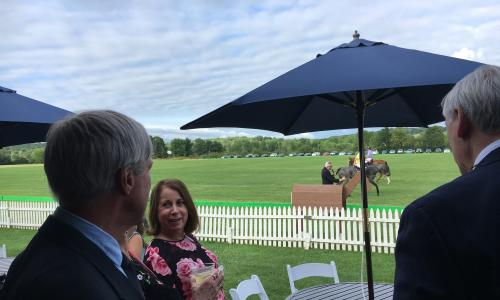 VIP Pavilion at Saratoga Polo Association