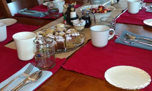 Geyser Lodge Breakfast