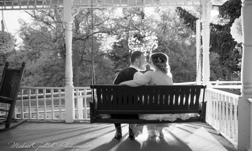 Metroland Photo Couple on Swing