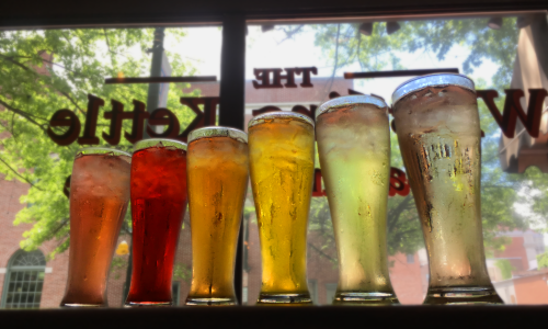 Whistling Kettle tea rainbow