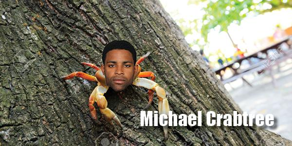 Michael Crabtree April Fools