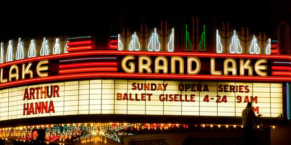 Grand Lake Theater Night Shot