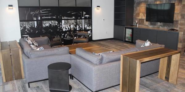 Meeting room at Brick House Blue
