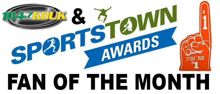 Enter For Your Chance to Win the SportsTown Fan of the Month
