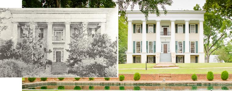 Then and Now Rose Hill