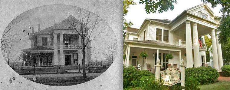 Then and Now Antebellum Inn