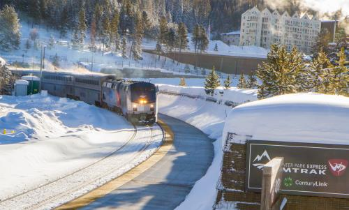 Winter Park Express ski train