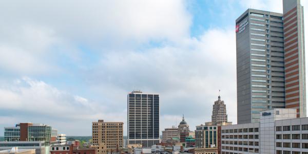 Downtown Fort Wayne Skyline